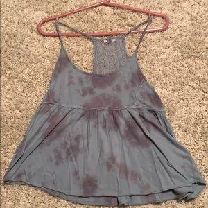 Urban Outfitters Flowy Tie-Dye Tank